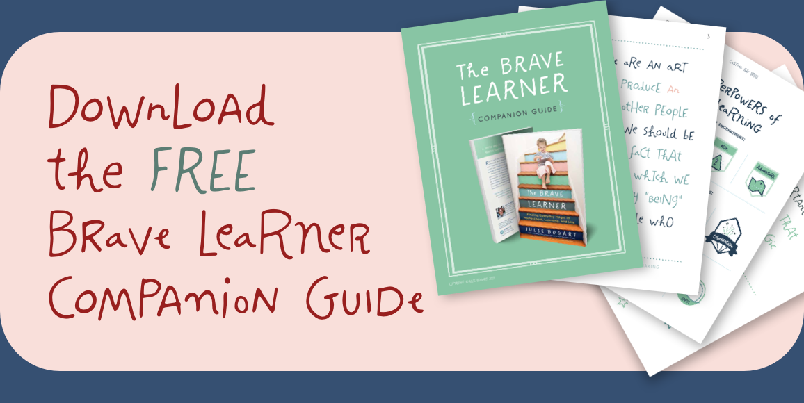 Download the FREE Brave Learner Companion Guide