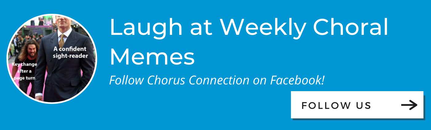 Chorus Connection Facebook CTA