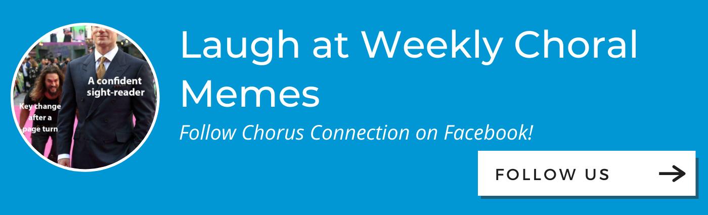 Chorus Connection Facebook CTA