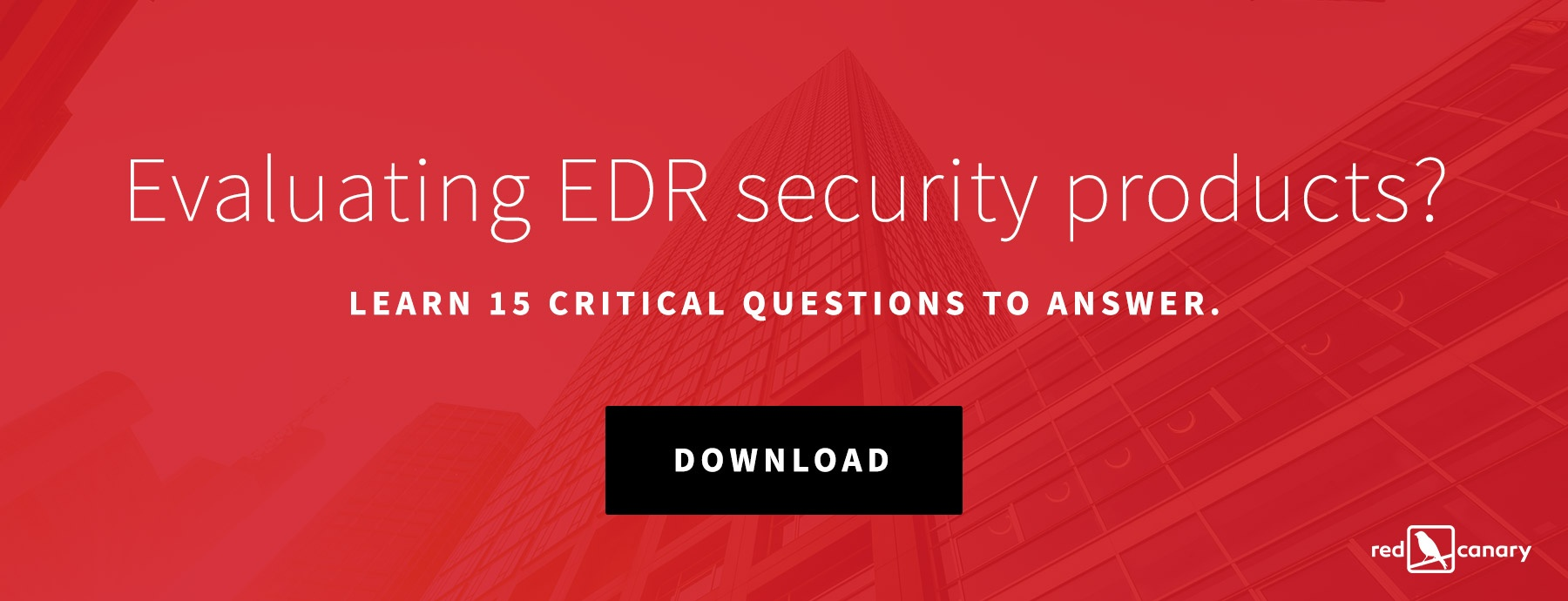 Endpoint Detection and Response (EDR) Buyer's Guide