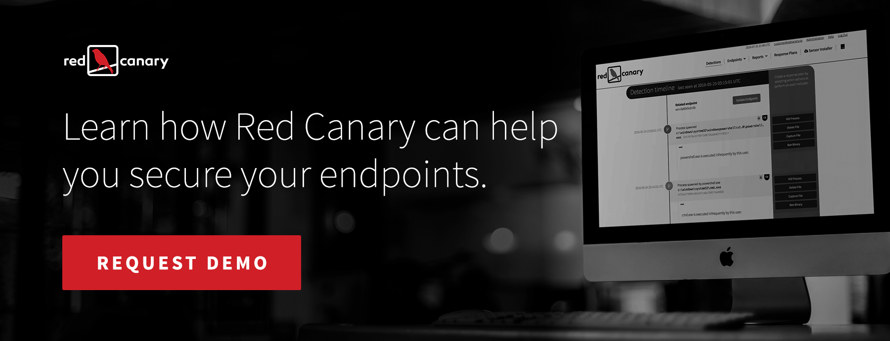 Request a demo with Red Canary