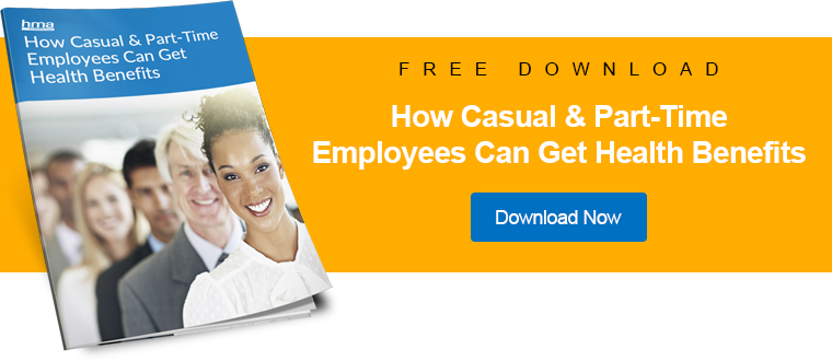 How Casual & Part-Time Employees Can Get Health Benefits