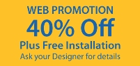 Web Promotion - 40% off