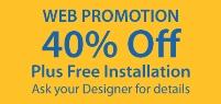 Web Promotion - 40% off