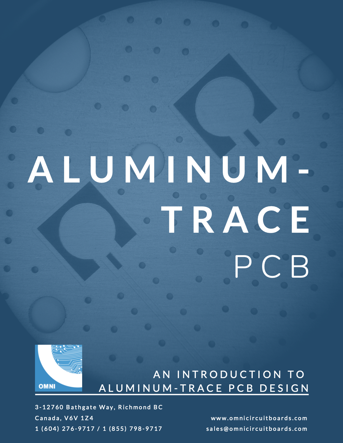 Aluminum Trace PCB Design Kit
