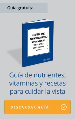 nutrientes, vitaminas y recetas para los ojos