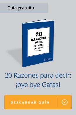 20 razones para decir bye bye gafas