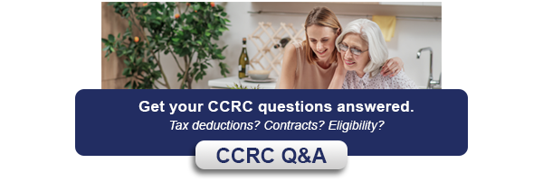 what is a ccrc button