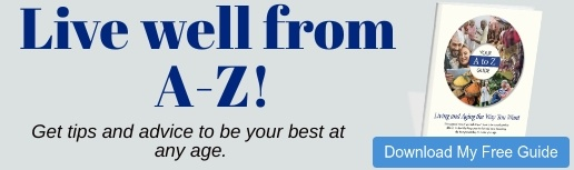 button to download A-Z guide to living and aging the way you want