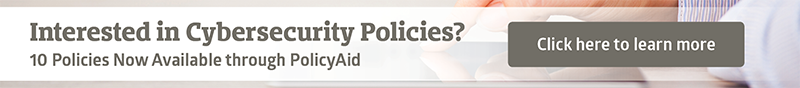 Cybersecurity policies - button image