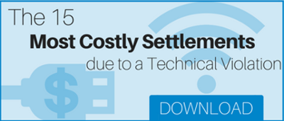 costly settlements due to a technical violation