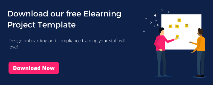 Design training your employees will love. Free Elearning Project Template