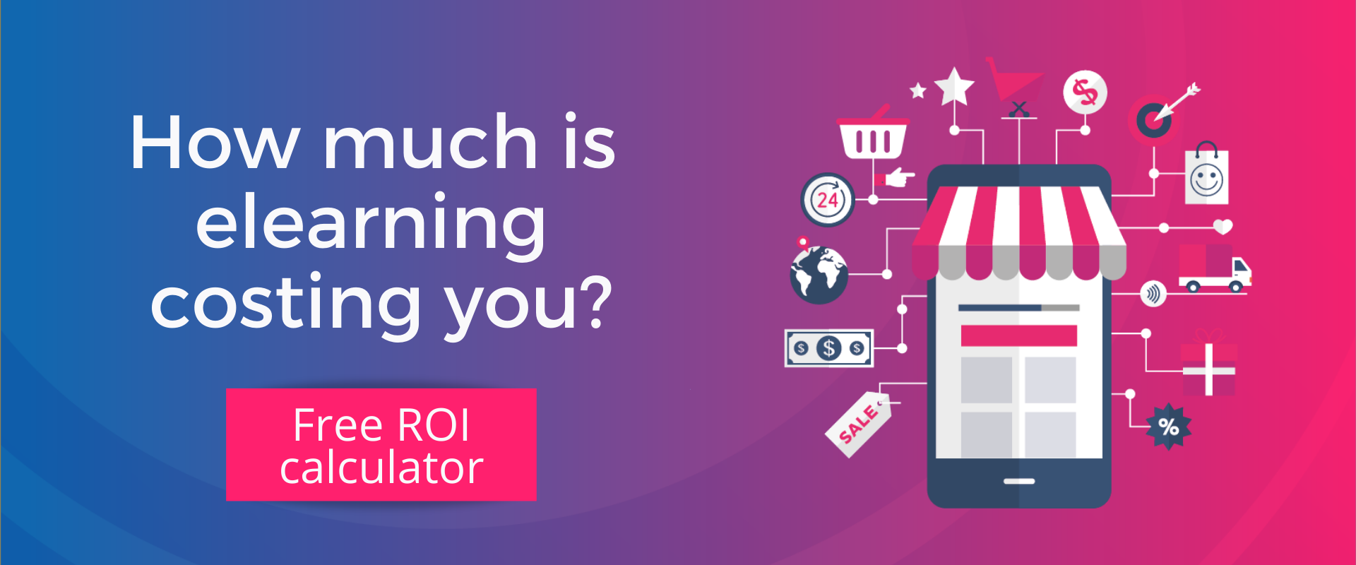 Elucidat authoring tool retail - roi calculator