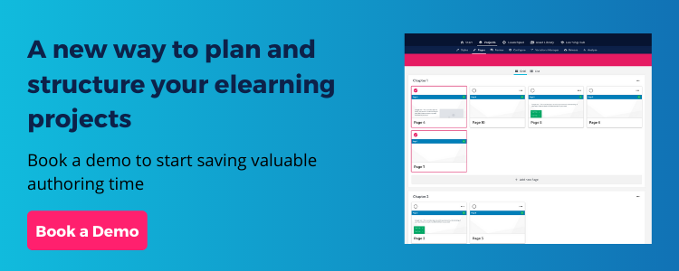 A new way to plan and structure your elearning projects