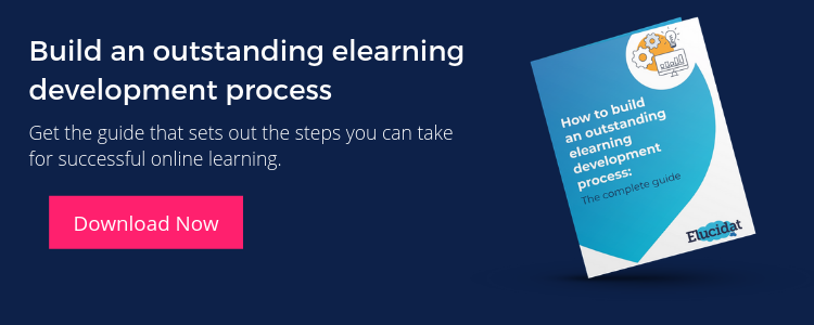 CTA elearning development process