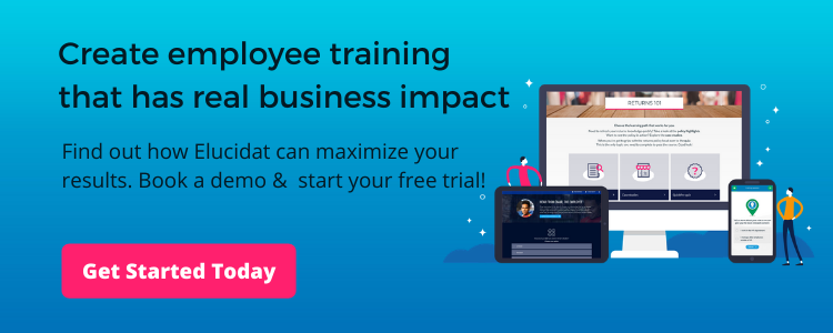 Book a demo and start your free trail. Elucidat Employee Training