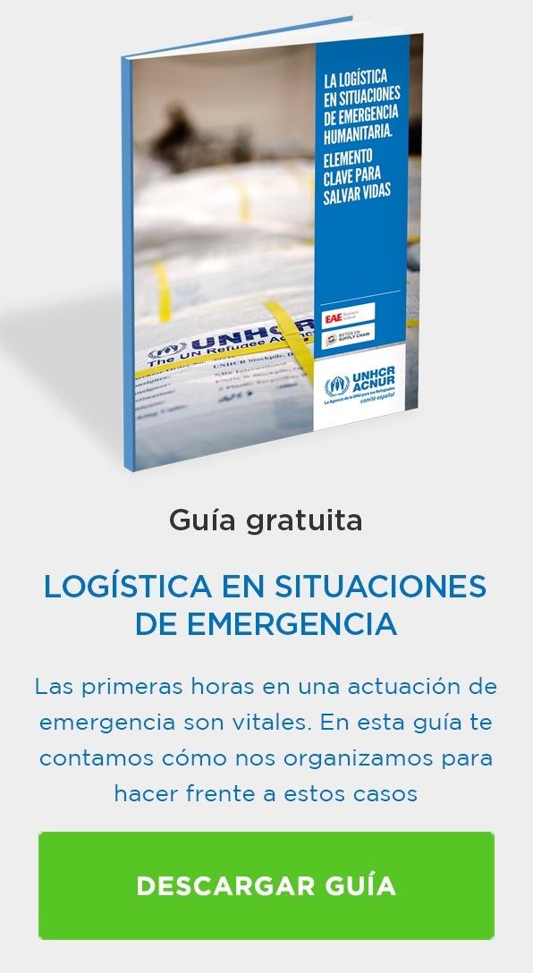Desarga guía Logística en situaciones de emergencia