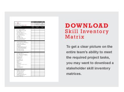 VDC Stakeholder Skill Inventory Matrix