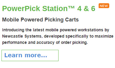 powered picking carts