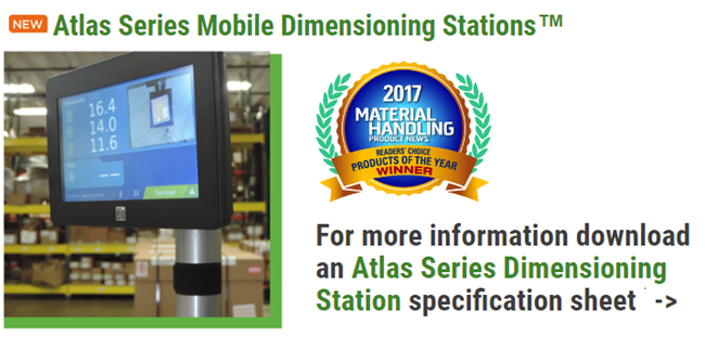 atlas dimensioning station