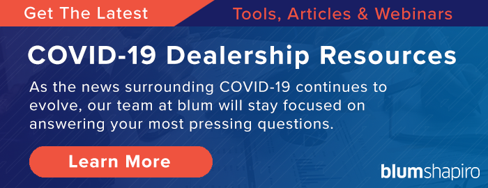 Dealership COVID-19 Resources