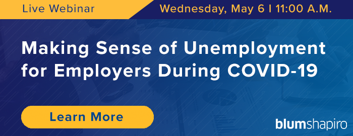 Unemployment COVID-19 Webinar Sign-Up