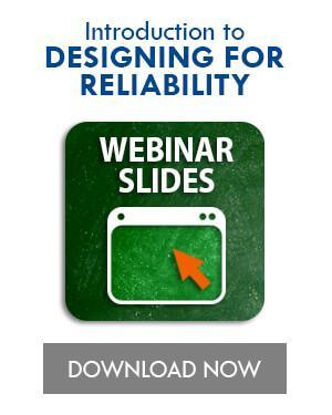 Introduction to Designing for Reliability