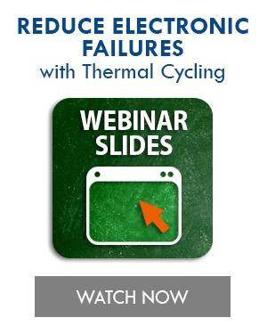 Guaranteeing Reliability with Thermal Cycling