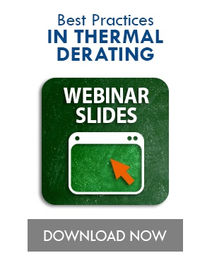 Best Practices in Thermal Derating Webinar