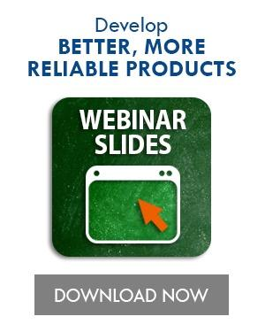 Best Practices in Implementing PoF in the Design Process Webinar