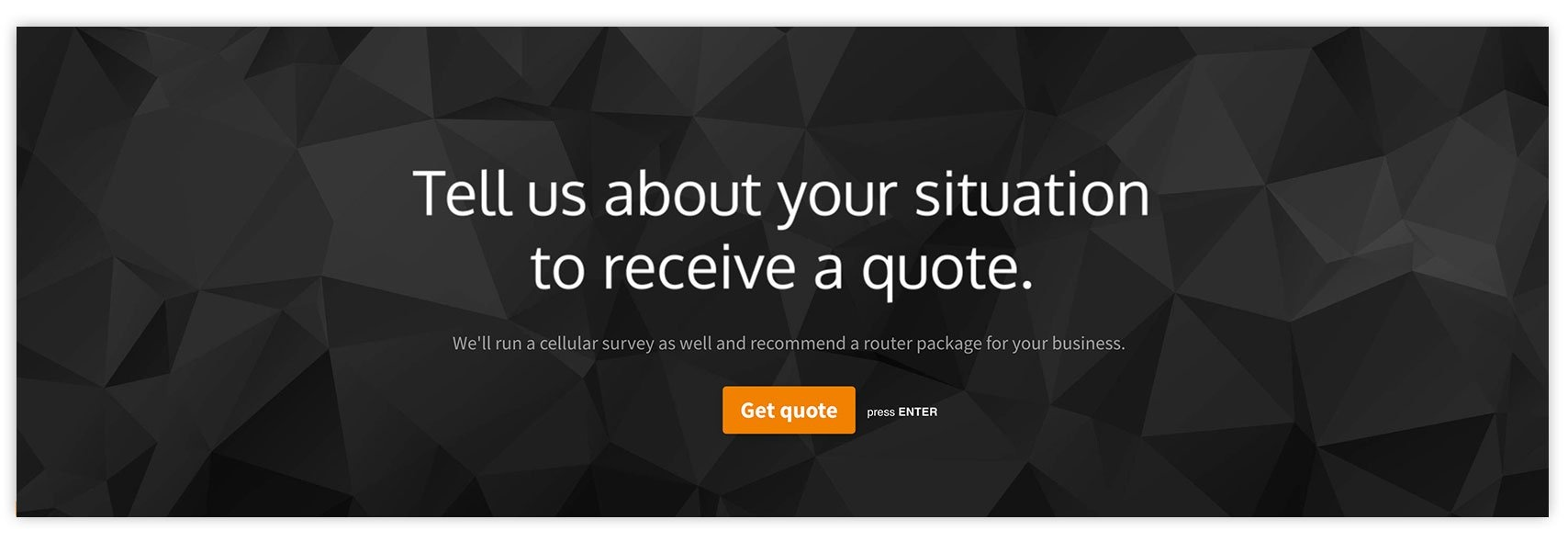 Tell us about your situation to receive a quote