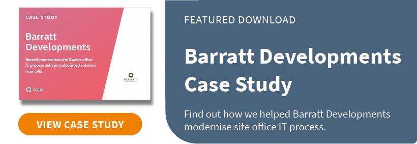 Barratt Developments Case Study