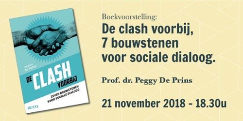 Boekvoorstelling de clash voorbij Peggy De Prins