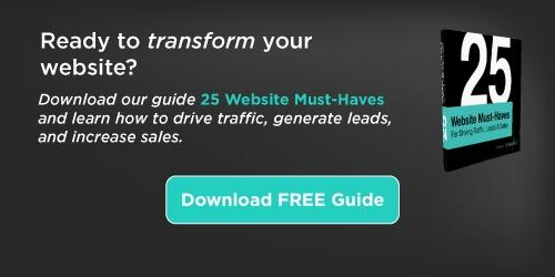 Transform Your Website! 25 Website Must-Haves