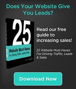 25 Website Must-Haves for Website Leads