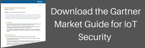 Gartner Market Guide for IoT Security