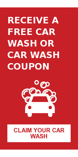Receive a Free Car Wash or Car Wash Coupon Claim Your Car Wash
