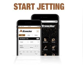 Open the StoneAge Jetting App