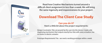 Creative Mechanisms Client Case Study