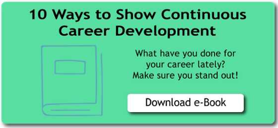 10 Ways to Show Continuous Career Development