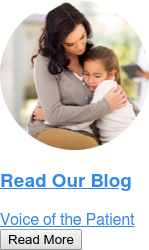 Read Our Blog  Voice of the Patient Read More