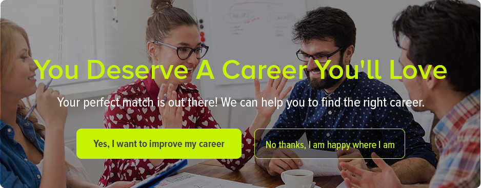 Find a career you will love