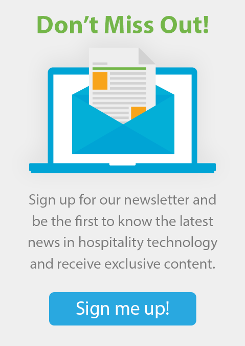 Intelity Hospitality Technology Newsletter signup