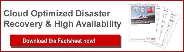 Disaster Recovery Factsheet