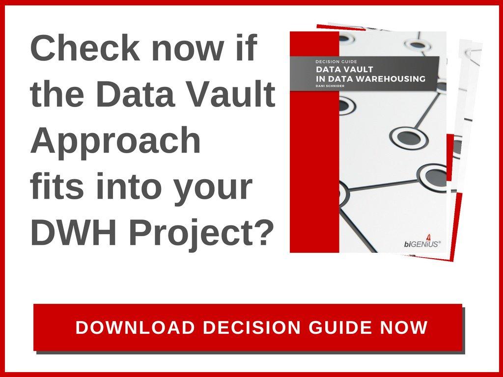 Decision Guide Data Vault