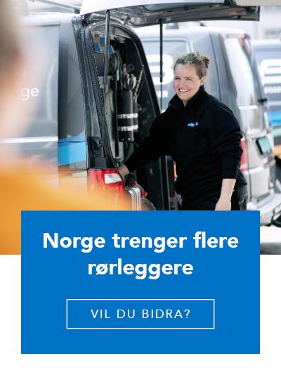 Norge trenger flere rørleggere - Vil du bidra?