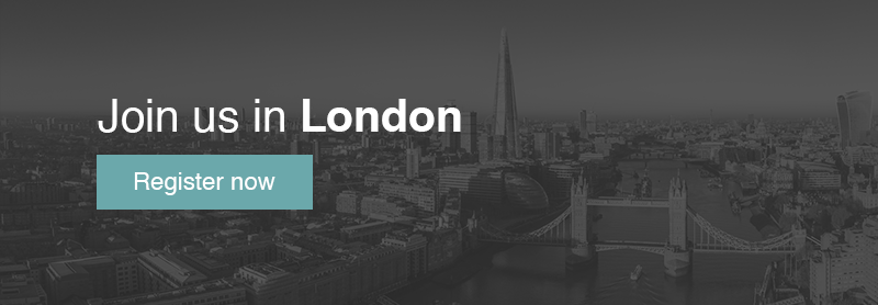 Join us in London - Click here to register