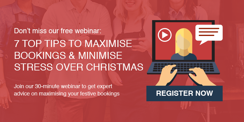 liveRES - Webinar: 7 top tips to maximise bookings and minimise stress over Christmas