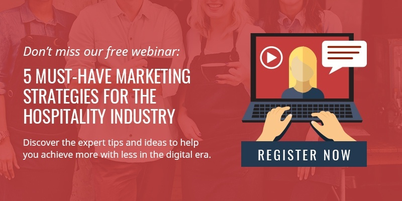 WEBINAR - 5 must-have marketing strategies for the hospitality industry
