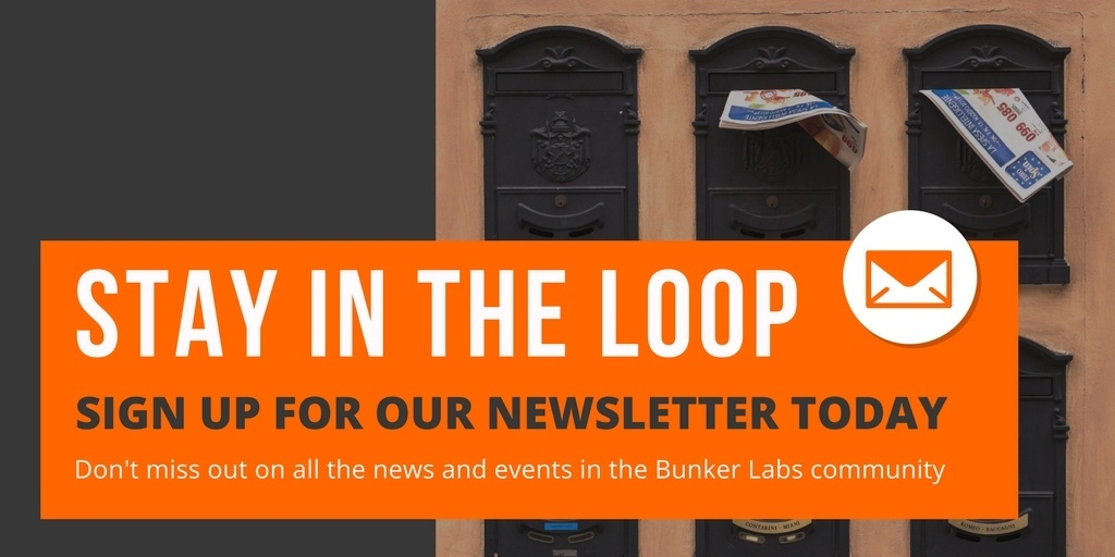Bunker Labs Newsletter signup